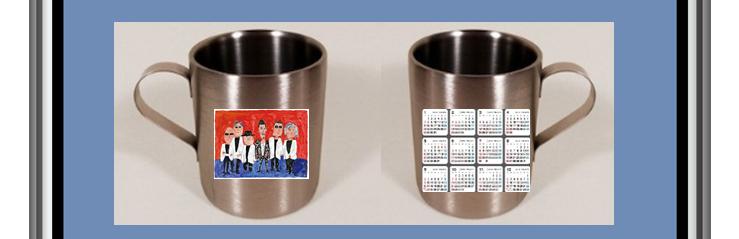 カレンダー付マグカップ