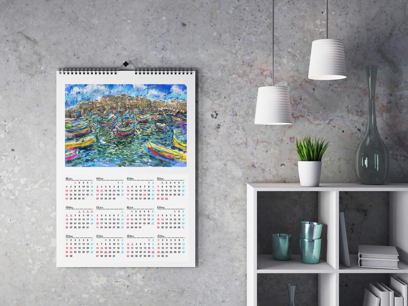 2019年オリジナルカレンダー
